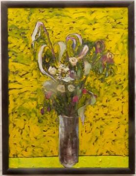 FLOWERS FOR LEDA 2015 100X75