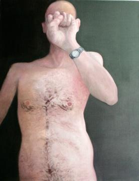 KNUCKLEHEAD (118x90 oil/canvas)
