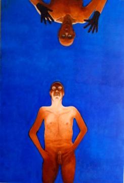 RISING LAZARUS (173x122 oil/canvas)