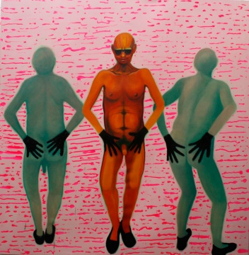 THE THREE GRACES (168x173 oil/canvas)